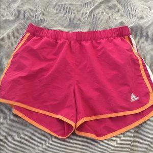 Pants - Adidas pink shorts size medium